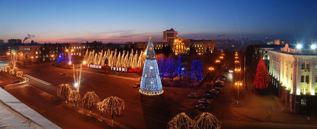 Смотреть фото чебоксары на новый год